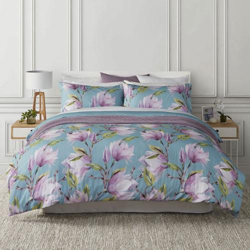 Magnolia Duvet Cover Set by Baksana