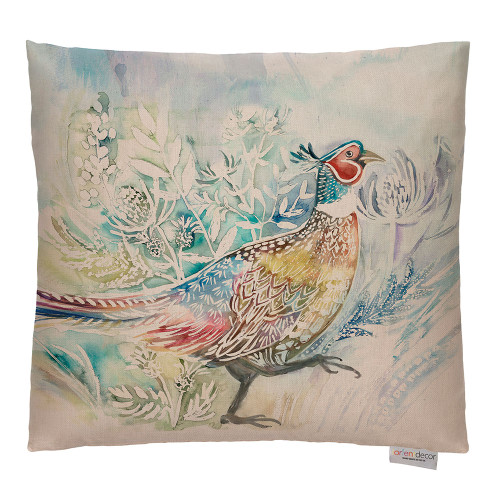 Prancing Pheasant Cushion by Lorient Decor (Voyage Maison)