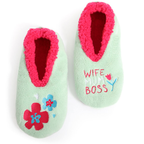 Womens Wife (Mothers Day) Slippers by Sploshies