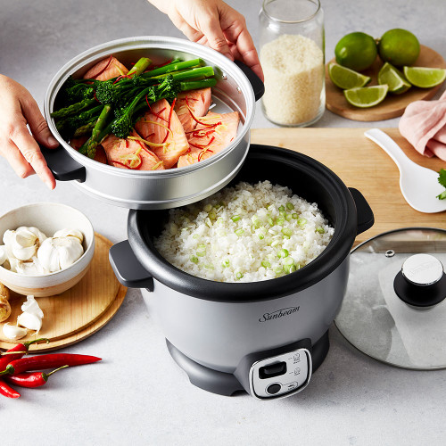 Rice Cooker and Saute 10 Cup by Sunbeam (RCP4000SV)