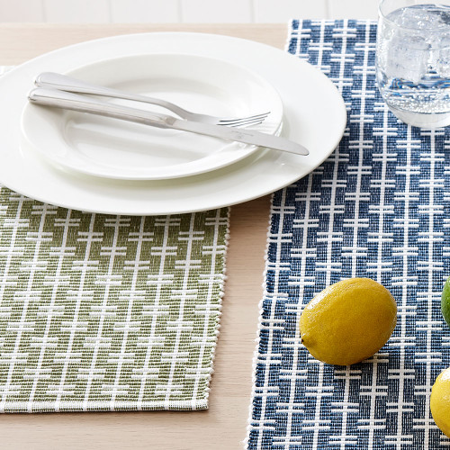 Eco Eden Ribbed Placemat by Ladelle