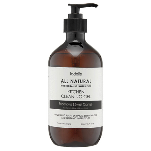 All Natural Eucalyptus & Sweet Orange Kitchen Cleaning Gel by Ladelle