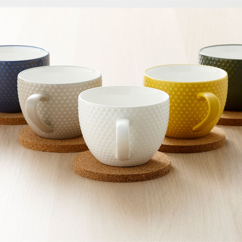 Abode Textured Mug and Coaster Set by Ladelle