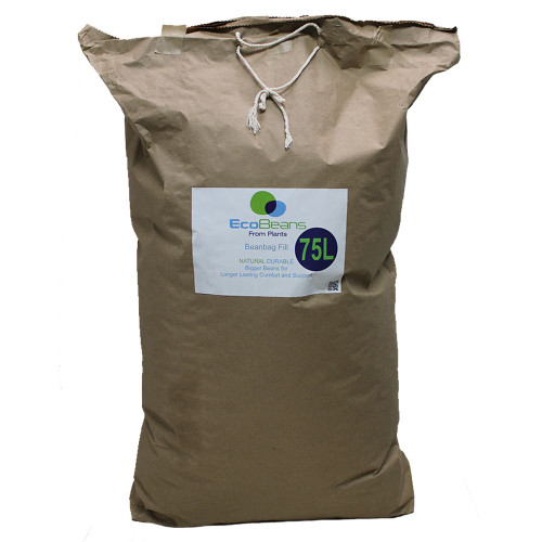 75L Natural Bean Bag Fill by Eco Beans