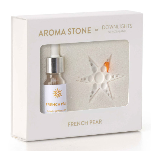 French Pear Christmas Star Aroma Stone by Downlights