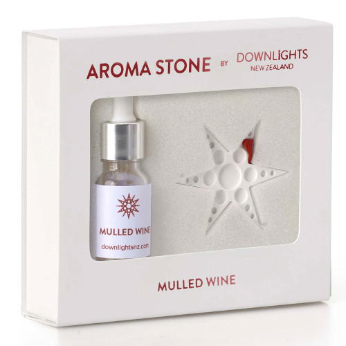 Mulled Wine Christmas Star Aroma Stone by Downlights