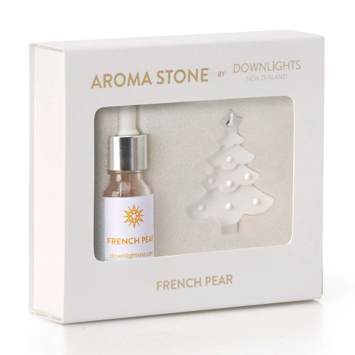 French Pear Christmas Tree Aroma Stone by Downlights