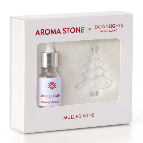 Mulled Wine Christmas Tree Aroma Stone by Downlights
