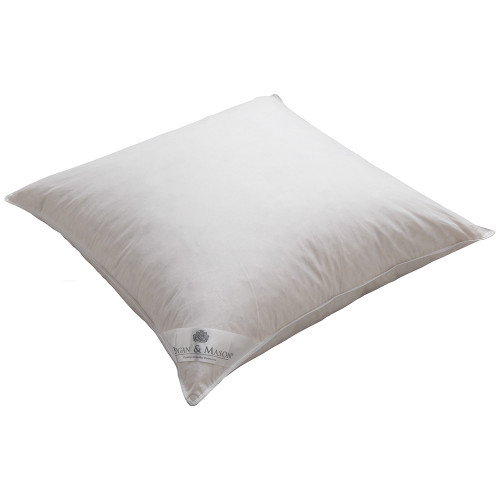 100% Feather European Pillow by Logan and Mason