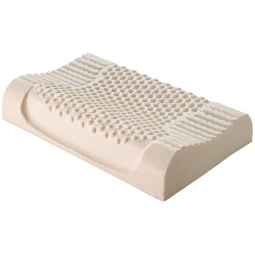 Standard Memory Foam Sculptured Contour Pillow by Logan and Mason