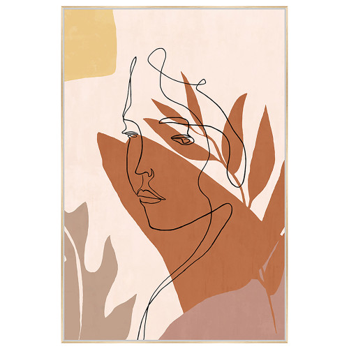 Contemplation Canvas Art by Linens and More