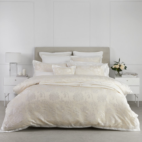 Catalina Pearl Duvet Cover Set by Platinum Collection