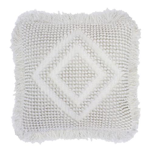 Clearance Timma Ivory Cushion by Bambury