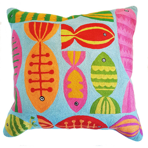 Fish Cushion Cover by Le Monde