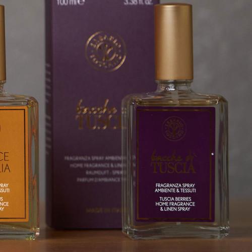 Bacche Di Tuscia Home Fragrance Spray (100ml) by Erbario Toscano
