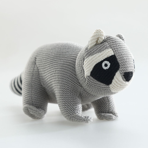 Racoon Soft Toy by MM Linen