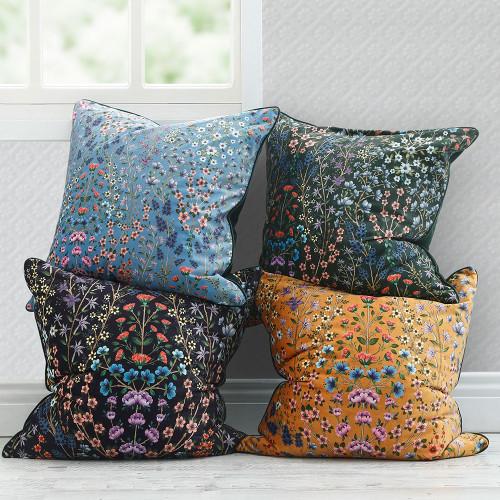 Hattie Velvet Cushion by MM Linen