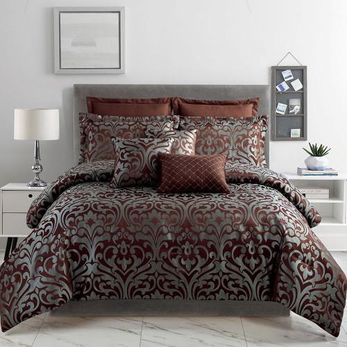 Essence 8 Piece Comforter Set by Marlborough