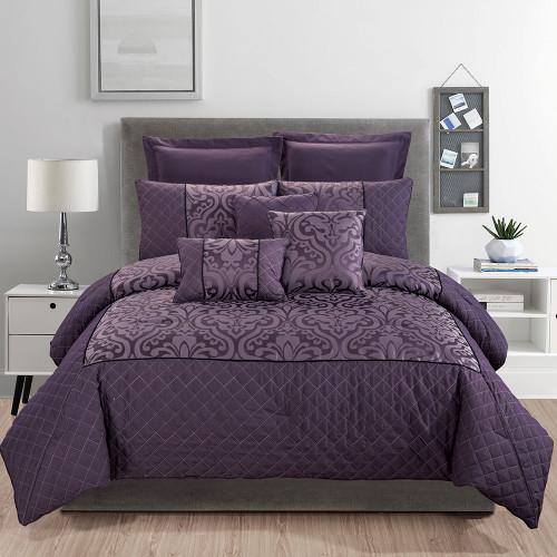 Julia 8 Piece Comforter Set by Marlborough