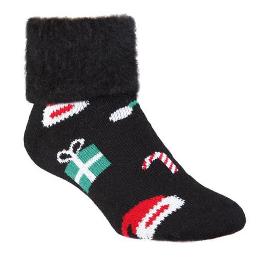 Candy Cane Christmas Socks by Comfort Socks