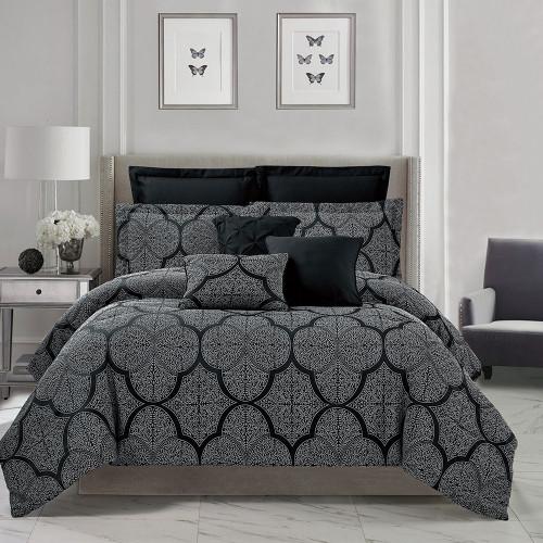 Colby 8 Piece Comforter Set by Marlborough
