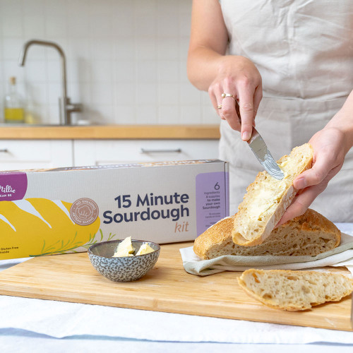 15 Minute Sourdough Kit by Mad Millie