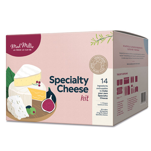 Specialty Cheeses Kit by Mad Millie