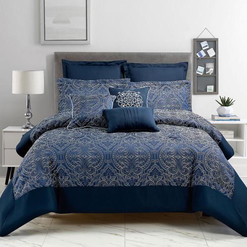 Verona 8 Piece Comforter Set by Marlborough