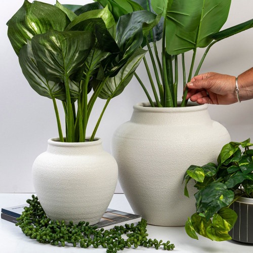 Fired Earth Pot by Linens and More