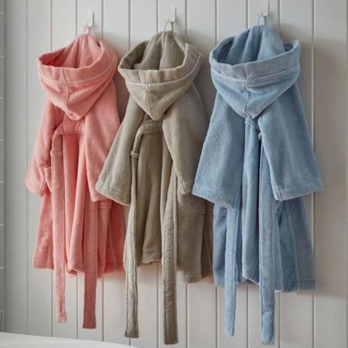 Kids Micro-Cotton Robe by Baksana
