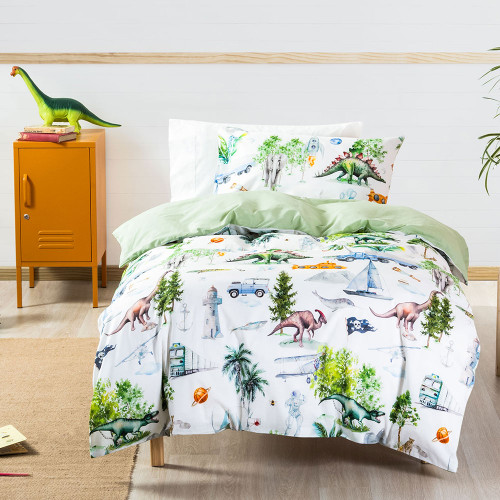 Be Brave Duvet Cover Set by Squiggles