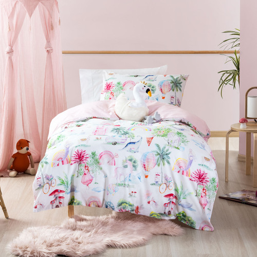 Be Whimsical Duvet Cover Set by Squiggles