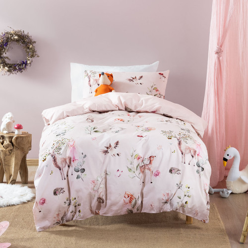 Enchanted Forest Duvet Cover Set by Squiggles