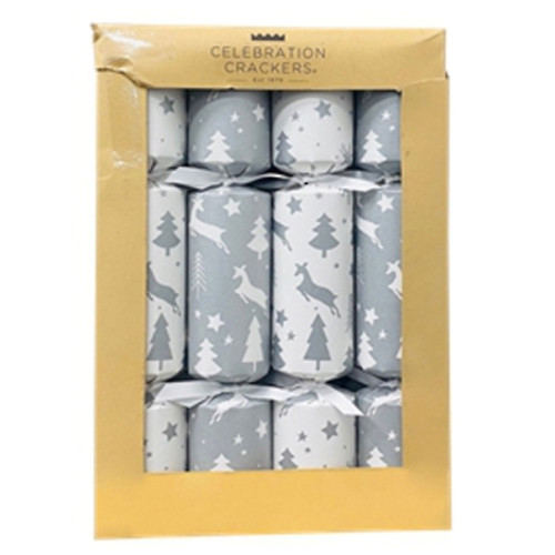 Forest Deer Christmas Crackers (Box of 12)