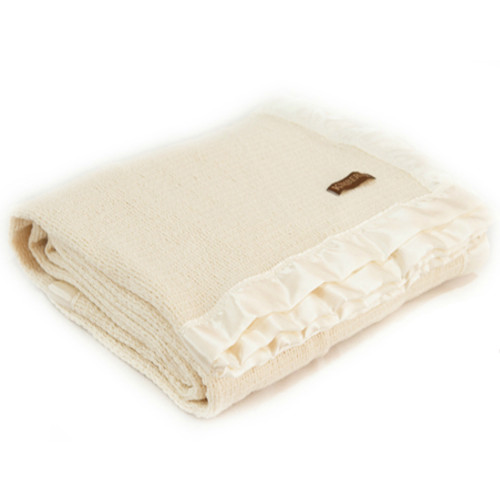 Thermacell Pure Merino Wool Blanket with Satin Edge - NZ Made