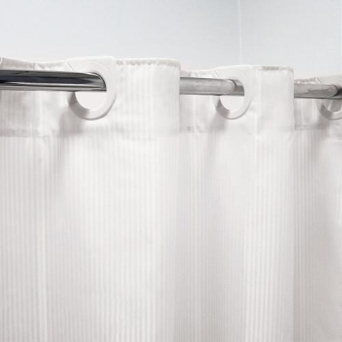 Hookless Shower/Bath Curtain 180 x 180cm by Bambury