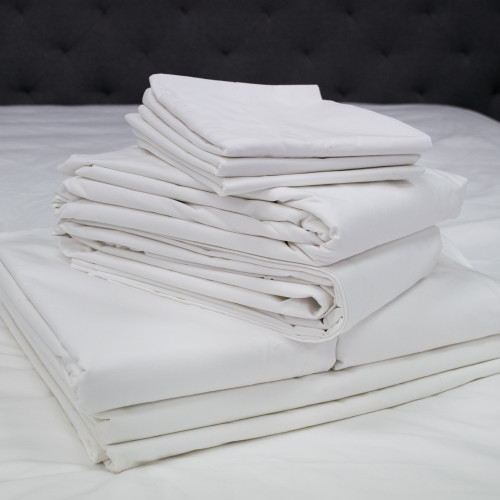 Actil Commercial Supercale White Fitted Sheets by Sheridan