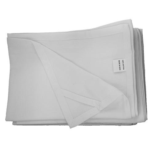White Blank Tea Towel for Screen Printing
