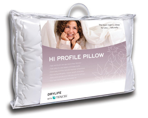 DryLife(R) Hi Profile Tencel Pillow