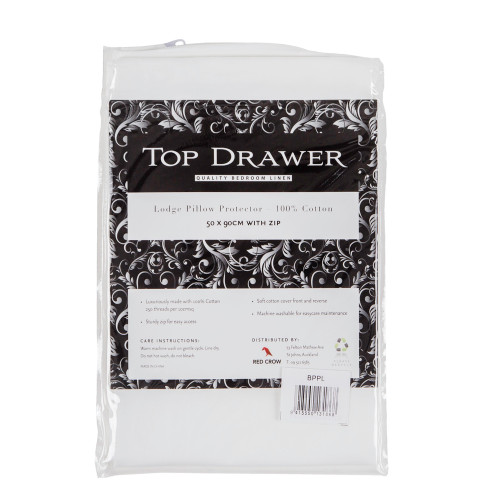 Cotton Lodge Pillow Protector by Top Drawer