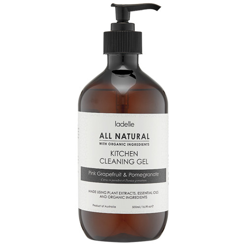 All Natural Pink Grapefruit & Pomegranate Kitchen Cleaning Gel by Ladelle