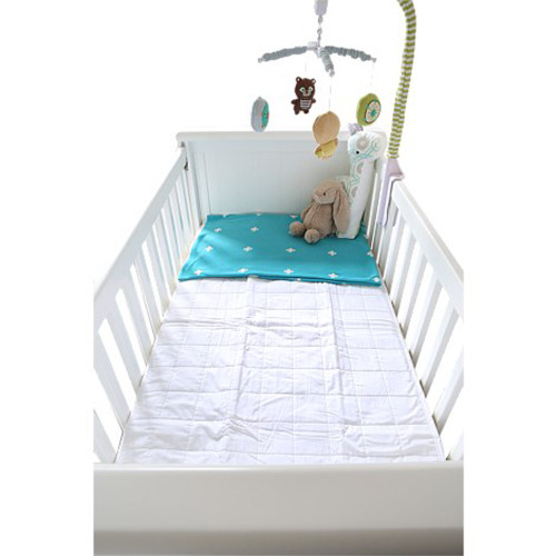 Waterproof Quilted Cot Mattress Protector by Brolly Sheets