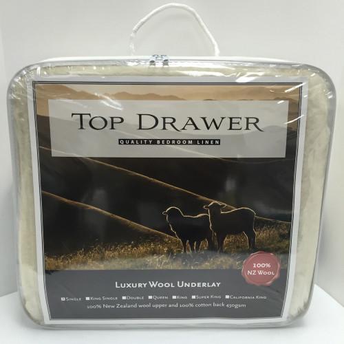 Luxury Wool Underlay by Top Drawer