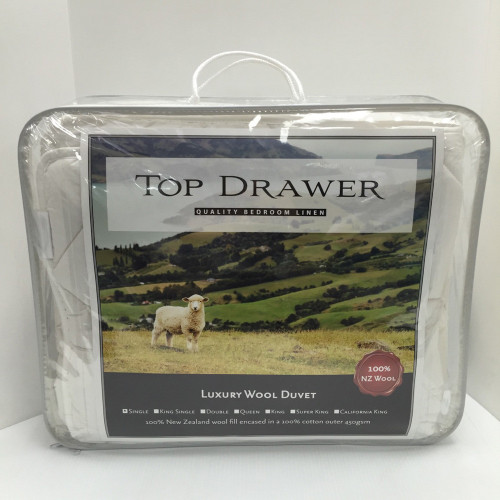 Luxury Wool Duvet Inner by Top Drawer