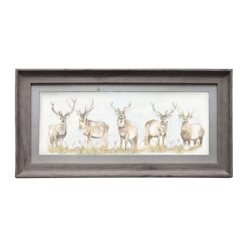Moorland Stag Wallart by Voyage Maison