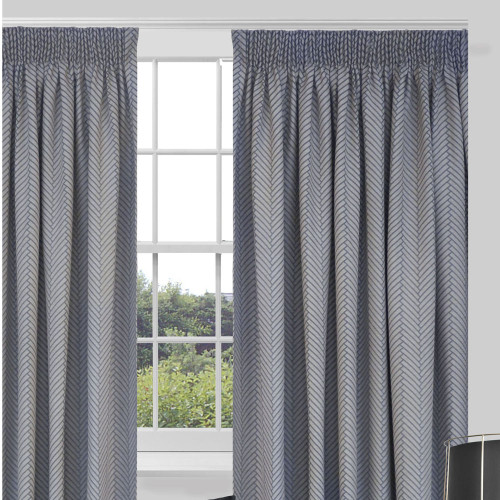 Balmoral Lined Pencil Pleat Readymade Curtains by Arena