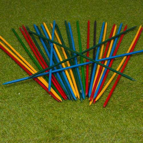 Giant Wooden Pick Up Sticks by easy days