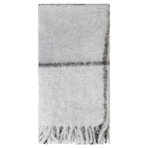 Bliss Grid Throw Bumble by Linens & More