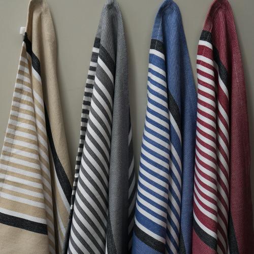Commercial Striped Tea Towels