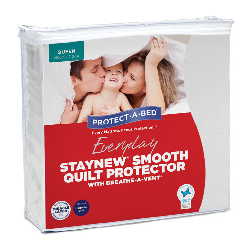 Staynew Smooth Quilt Protectors by Protect-A-Bed®